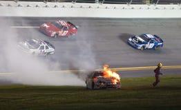 NASCAR: Jalapeno 250 do metro julho de 03 Fotografia de Stock Royalty Free