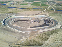 NASCAR:  Jan 21 Phoenix Open Test Royalty Free Stock Image