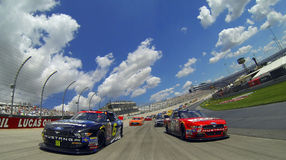 NASCAR: Januari 08 buckla upp 200 Royaltyfri Foto