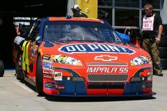 NASCAR - Jeff Gordon ontwikkelt Stock Foto's
