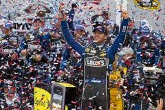 NASCAR: Jimmie Johnson segrar Daytonaen 500 Royaltyfri Bild