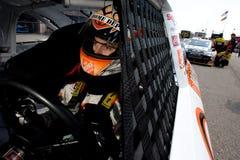 NASCAR: Joey Logano 14. August Carfax 400 Lizenzfreies Stockbild