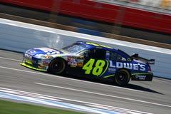 NASCAR - Johnson em Lowes Imagem de Stock