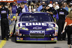 NASCAR - Johnsons all stjärnaLowes Impala Arkivbild