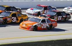 NASCAR: Jugo 500 de la energía del 29 de octubre amperio Fotografía de archivo