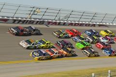 NASCAR: Jugo 500 de la energía del 31 de octubre amperio Imágenes de archivo libres de regalías