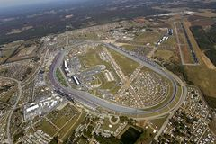 NASCAR: Jugo 500 de la energía del 31 de octubre amperio Foto de archivo libre de regalías