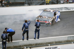 NASCAR : 23 juillet Brantley Gilbert Big Machine Brickyard 400 Photos libres de droits