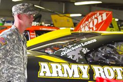 NASCAR:  Jul 14 US ARMY Stock Photography