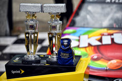 NASCAR:  Jul 26 Crown Royal Presents the Jeff Kyle 400 at the Brickyard Royalty Free Stock Photo