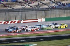 NASCAR: Am 13. Juli Alsco 300 lizenzfreie stockbilder
