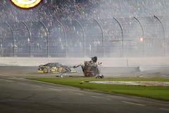NASCAR: Juli 06 cola noll 400 Arkivbilder