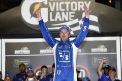 NASCAR: Juli 01 cola noll vinnare 400 Royaltyfri Foto