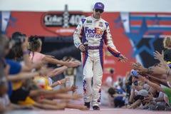 NASCAR: Juli 07 colanollsocker 400 Royaltyfria Bilder