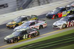NASCAR: Juli 07 colanollsocker 400 Royaltyfria Foton