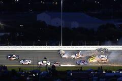 NASCAR: Juli 07 colanollsocker 400 Arkivbilder