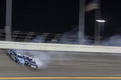 NASCAR: Juli 07 colanollsocker 400 Arkivfoton