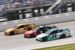 NASCAR: Juli 01 Overton ` s 400 Arkivbilder