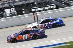 NASCAR: Juli 01 Overton ` s 400 Royaltyfria Bilder