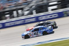 NASCAR: Juli 01 Overton ` s 400 Arkivbild