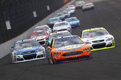 NASCAR: July 23 Brantley Gilbert Big Machine Brickyard 400 Stock Image