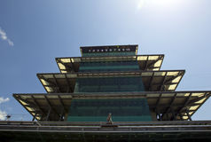 NASCAR: JULY 23 Brickyard 400. INDIANAPOLIS, IN - JULY 23, 2010: The Indianapolis Motor Speedway plays host to the Brickyard 400 race in Indianapolis, IN stock images