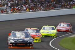 NASCAR:  JULY 25 Brickyard 400 Royalty Free Stock Photos