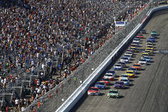 NASCAR: July 16 Overton`s 301 Stock Image