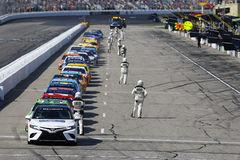NASCAR: July 16 Overton`s 301 Royalty Free Stock Photography