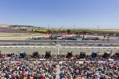NASCAR:  Jun 26 Toyota/Save Mart 350 Royalty Free Stock Photography