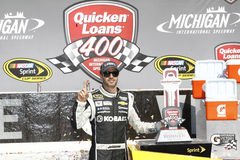 NASCAR:  Jun 15 Quicken Loans 400 Stock Images