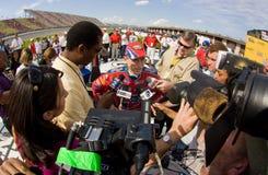 NASCAR: June 14 LifeLock 400 royalty free stock photos