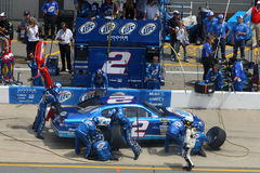 NASCAR:JUNE 14 Lifelock 400 royalty free stock photography