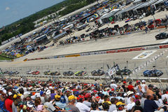 NASCAR: June 20 Copart 200 royalty free stock images