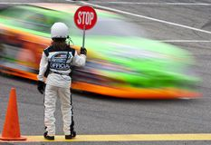 NASCAR:  June 26 New England 200 Stock Image