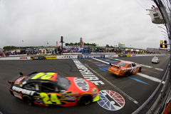 NASCAR:  June 28 Lenox Industrial Tools 301 Royalty Free Stock Photo
