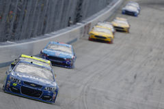 NASCAR: June 04 AAA 400. June 04, 2017 - Dover, DE, USA: Jimmie Johnson 48 leads the field for the AAA 400 at Dover International Speedway in Dover, DE Stock Image