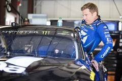 NASCAR: June 22 TOYOTA/SAVE MART 350. June 22, 2018 - Sonoma, California , USA: June 22, 2018 - Sonoma, California , USA: Jamie McMurray 1 gets ready to take to Royalty Free Stock Photography