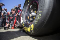 NASCAR: June 24 TOYOTA/SAVE MART 350. June 24, 2018 - Sonoma, California , USA: Kurt Busch 41 gets ready for the TOYOTA/SAVE MART 350 at Sonoma Raceway in Sonoma Stock Photo