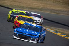 NASCAR: June 23 TOYOTA/SAVE MART 350 stock photography