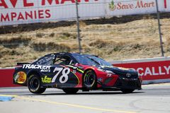 NASCAR: June 24 TOYOTA/SAVE MART 350. June 24, 2018 - Sonoma, California , USA: Martin Truex, Jr 78 races for the TOYOTA/SAVE MART 350 at Sonoma Raceway in Royalty Free Stock Photos