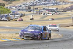 NASCAR: June 24 TOYOTA/SAVE MART 350. June 24, 2018 - Sonoma, California , USA: Matt DiBenedetto 32 Races through turn ten at the TOYOTA/SAVE MART 350 at Sonoma Stock Photos