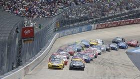 NASCAR: Juni 04 amerikanska motorförbundet 400 Royaltyfri Foto