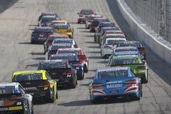NASCAR: Juni 04 amerikanska motorförbundet 400 Royaltyfria Bilder
