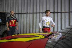 NASCAR: Juni 08 FireKeepers kasino 400 Arkivfoton