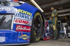 NASCAR: Juni 08 FireKeepers kasino 400 Arkivfoto