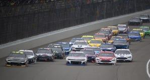 NASCAR: Juni 10 FireKeepers kasino 400 Arkivbilder