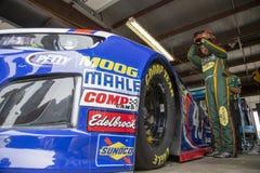 NASCAR: Juni 08 FireKeepers kasino 400 Royaltyfri Fotografi
