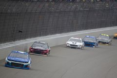 NASCAR: Juni 10 FireKeepers kasino 400 Royaltyfria Bilder