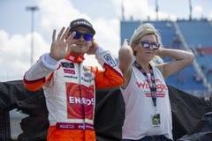 NASCAR: Juni 30 Overton ` s 300 Royaltyfri Fotografi